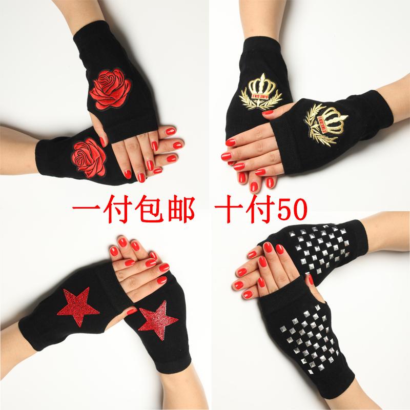 Мужские перчатки без пальцев Артикул 538960165423