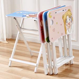 儿童折叠学习桌小学生书桌写字桌椅套装家用小孩儿简约课桌写字台