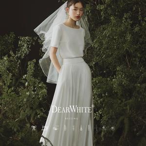 亲爱的白《半夏风》2021新款女连衣裙