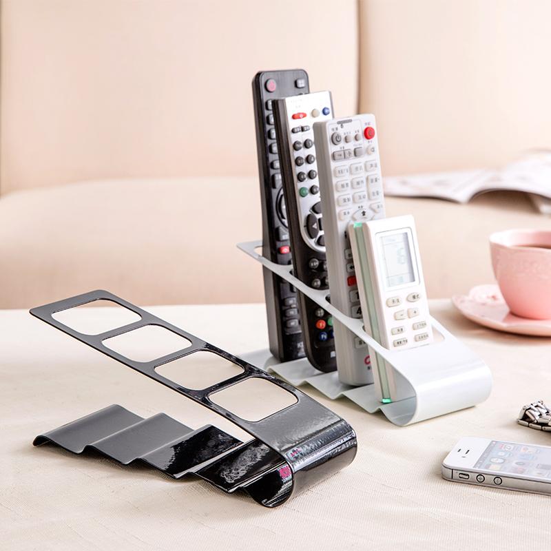 茶几電視遙控器收納架創意辦公室桌上整理架收納置物架桌面收納盒