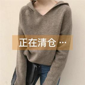 秋冬带帽韩版学生宽松厚款超火卫衣