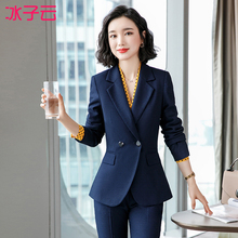 Western suit women's fashion 2019 new style Korean small fragrant style suit business suit formal work clothes autumn and winter