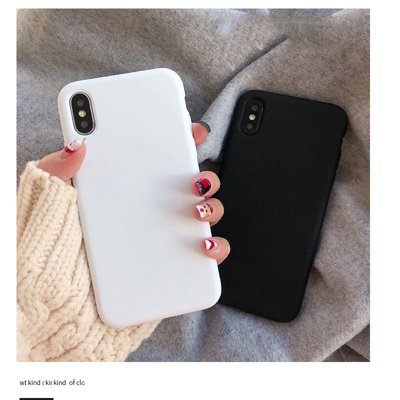 ins纯白色华为荣耀9x手机壳软硅胶9i九青春版新款荣耀20pro黑色男