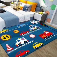 儿童房地毯卧室床边毯满铺房间卡通飞行棋跳房子爬行垫榻榻米地垫