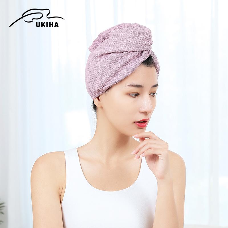 上新必狂 UKIHA 干发帽浴帽吸水可爱包头巾加厚速发巾毛巾速干发