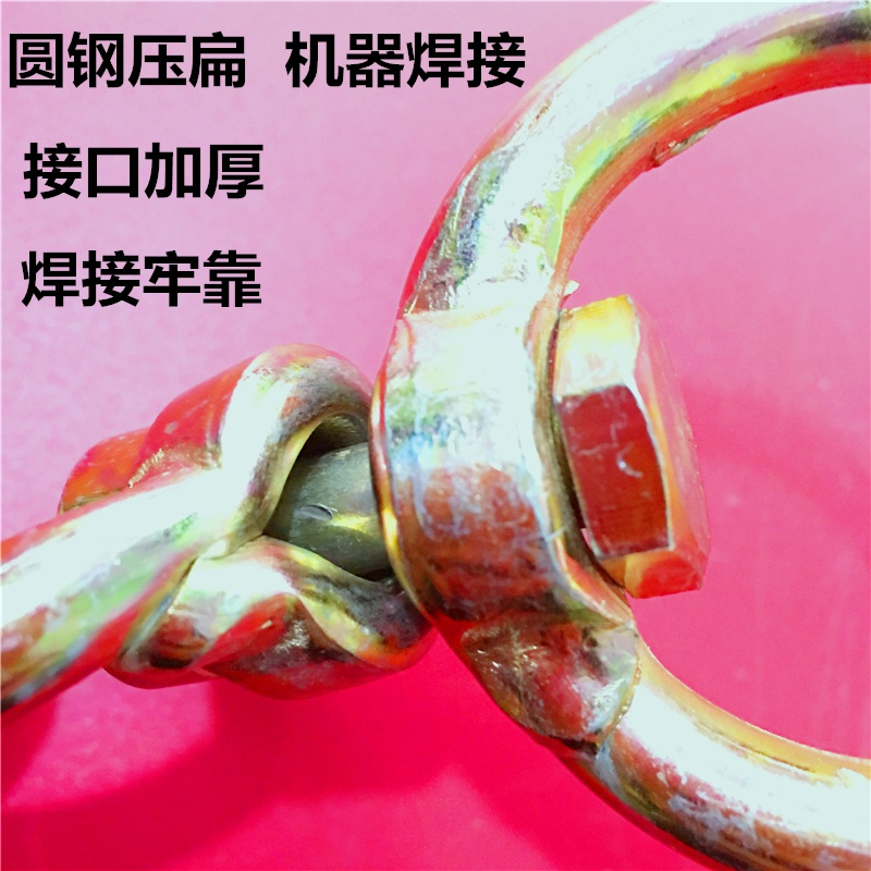 Two way rotating ring symmetrical h rotating ring thickened lifting ring to tie cattle reinforced rotating ring hunting activity 8-shaped ring to tie dog ring