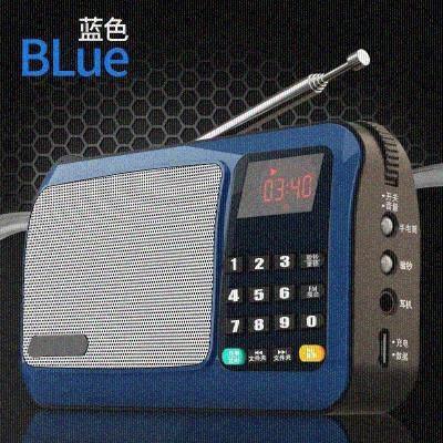 用的放歌式充电音响音响用收音机家用可的店户外内存箱跳舞插卡小