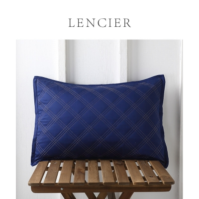 Lencier exquisite retro style full face embroidered cushion (with core) headrest pillow pillow Bourne