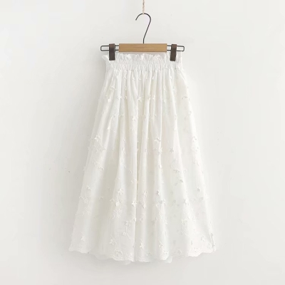Super fairy sweet spring new small fresh forest students Yamamoto wind cotton white very fairy skirt children