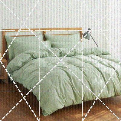 1.8换季色清新约折叠固定床榻榻米色床单床笠四件套加厚