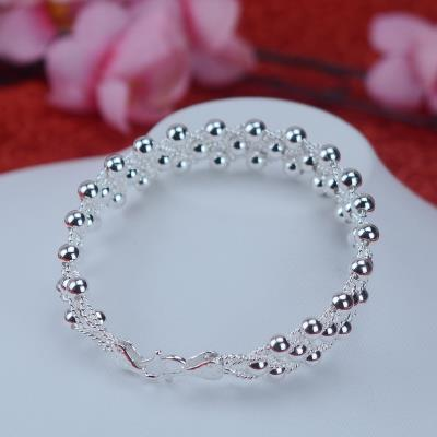 990 trend 3-layer Beaded mesh special hand card for Zuyin special girlfriend adult Bracelet C