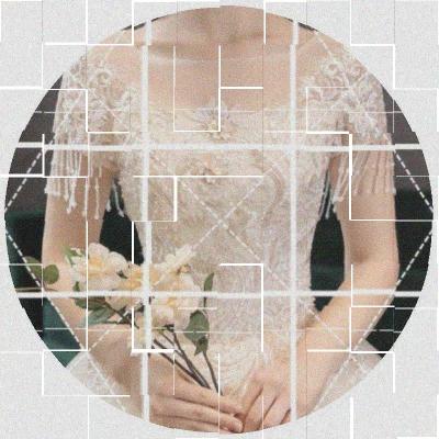 主婚紗2020新款新娘森系一字肩顯瘦法式夢幻香檳色簡約輕出門紗裙圖片
