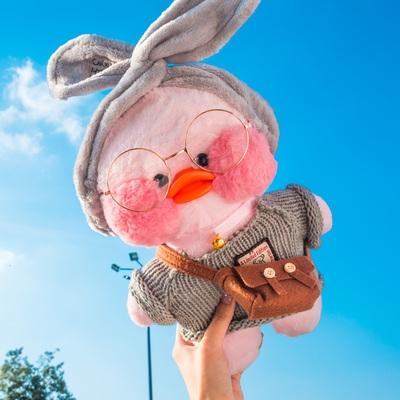 網紅玻尿酸鴨子沙雕復讀鴨互懟人會學說話的毛絨玩具娃娃玩偶公仔