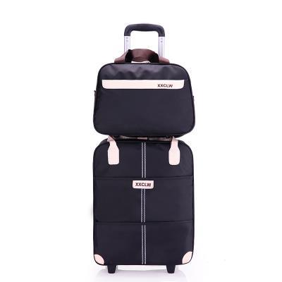 小型行李箱手拉箱行李袋提拉运动鼓包多用旅行包时尚男女小号提手