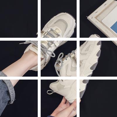 2020新款老爹女鞋新款休闲透气春夏季ins网红百搭超火运动学生潮
