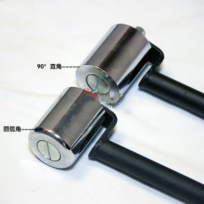 兔帝牌PVC塑胶地板施工工具单轮小压辊压滚