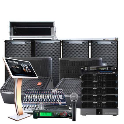 君浩电器 美国JBL6012音乐餐厅400平 酒吧舞台演唱套装 全国安装