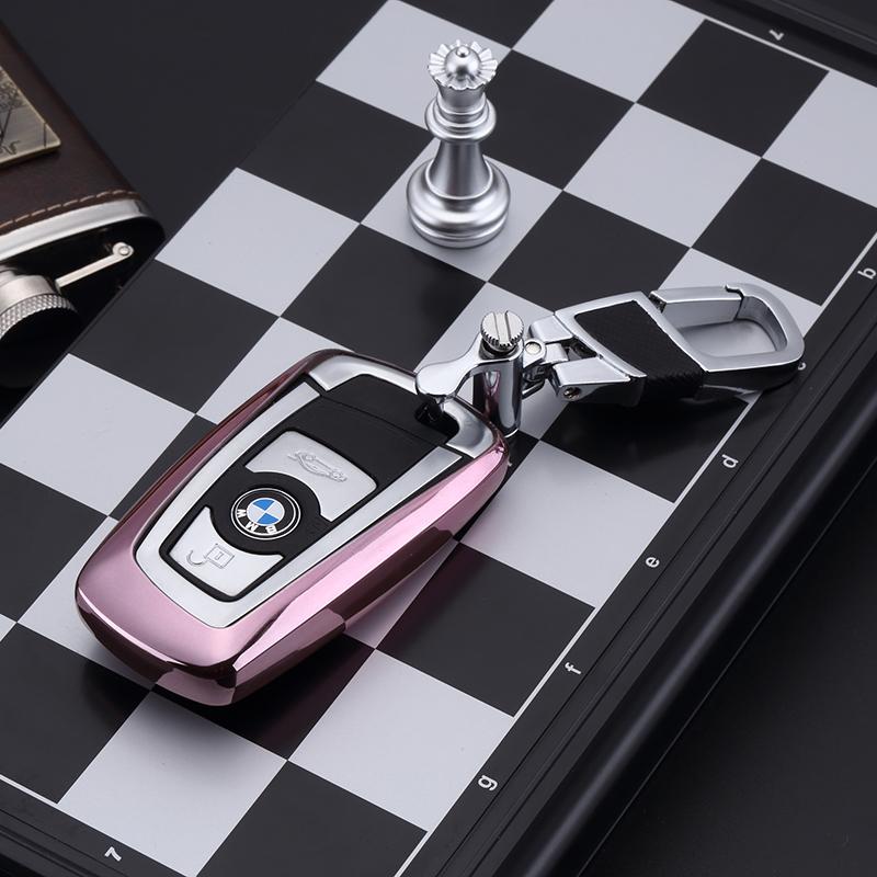 迪加伦 宝马钥匙包 新3系 5系GT 7系1系X3汽车钥匙套 钥匙保护壳