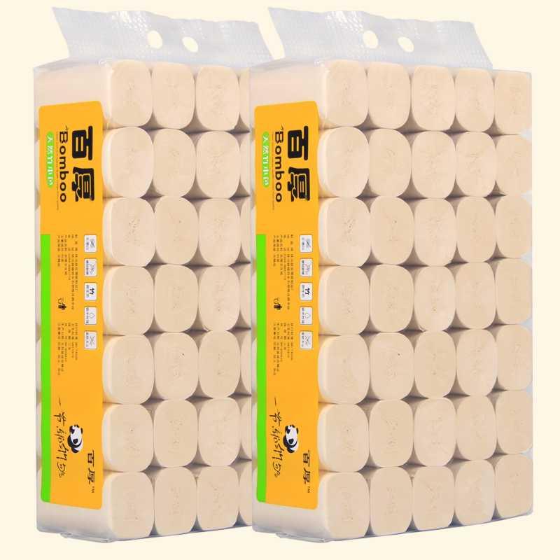 餐巾柔韧纸抽洗手间卷浆原浆纸浆原木卫生间宾馆本色卷筒纸家用