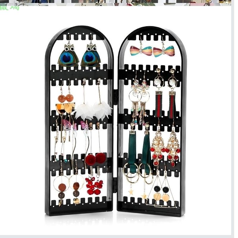 耳坠组装摆件耳饰壁挂拍照个性收拾折叠120展示架项链置物架架子