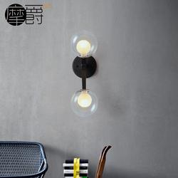 摩爵后现代客厅灯侧墙灯创意过道灯具现代简约楼镜前灯上下壁灯