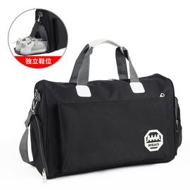 韩版旅行包旅行袋健身包手提男大容量行李包女防水旅游袋短途出差图片