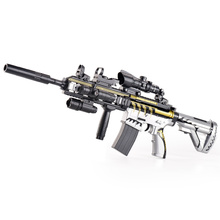 Peace m416 electric water bomb elite hand in one with skin boy assault gun children toy gun