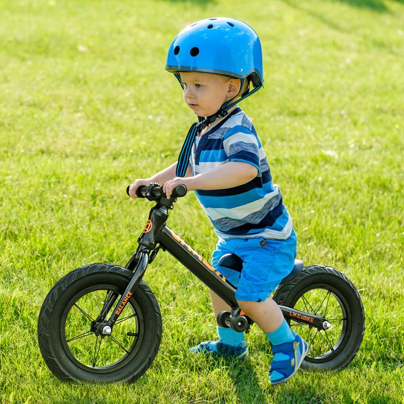 平衡车儿童滑步车自行车双轮无脚踏2-3-6岁宝宝小孩踏步车滑步车(非品牌)