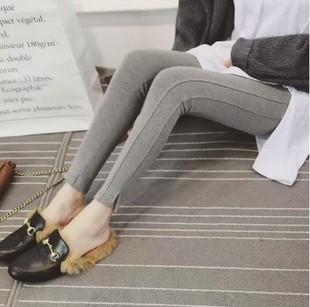 正品韩版修身显瘦外贸秋款潮打底裤
