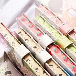 领1元券购买简约少女心日式手账本可爱记事本子