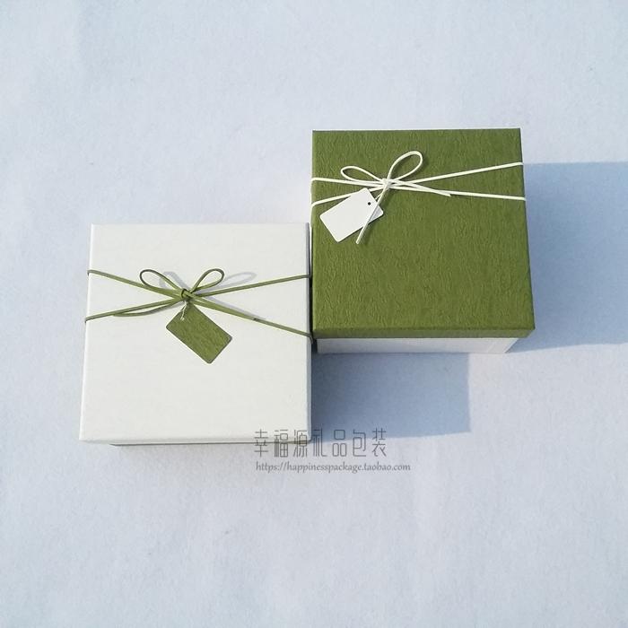手慢无ins礼品盒正方形精美韩版礼盒生日礼物盒简约包装盒礼物盒子