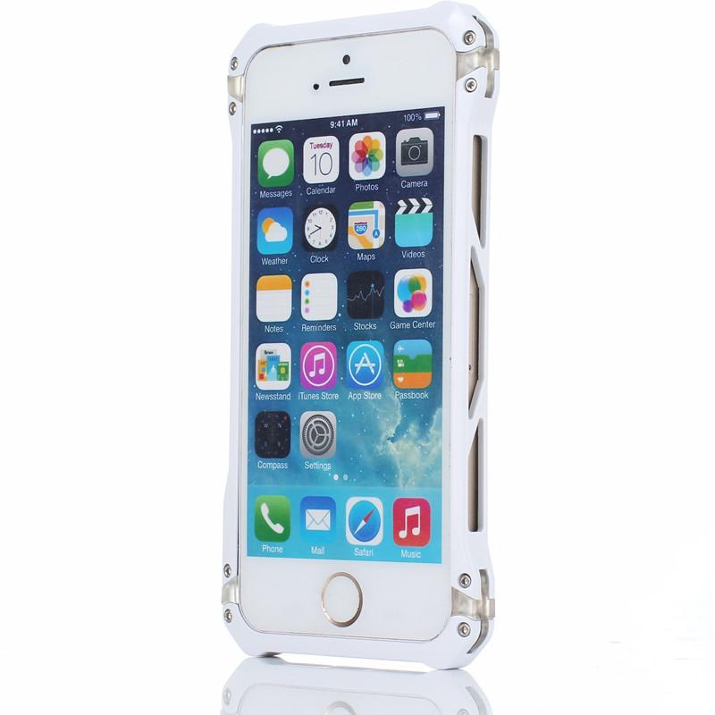 鋼鐵俠蘋果5s手機殼iPhone5sSE防摔邊框式金屬 潮男五s 我潮流