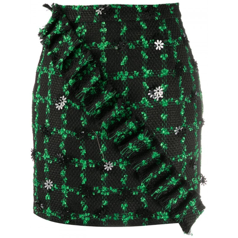 10% off tax package for womens loulou Mini embroidered skirt