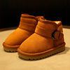 Barbara duck children snow boots child boots 2017 new baby boy cotton boots girls winter boots and winter shoes