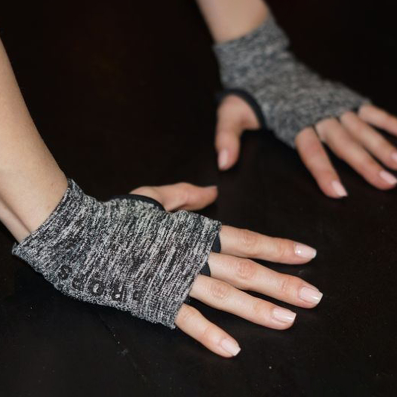 Вес модель  PROPS йога пула упоминание скольжение рукавицы пальцев движение пот фитнес воздухопроницаемый перчатки Freedom
