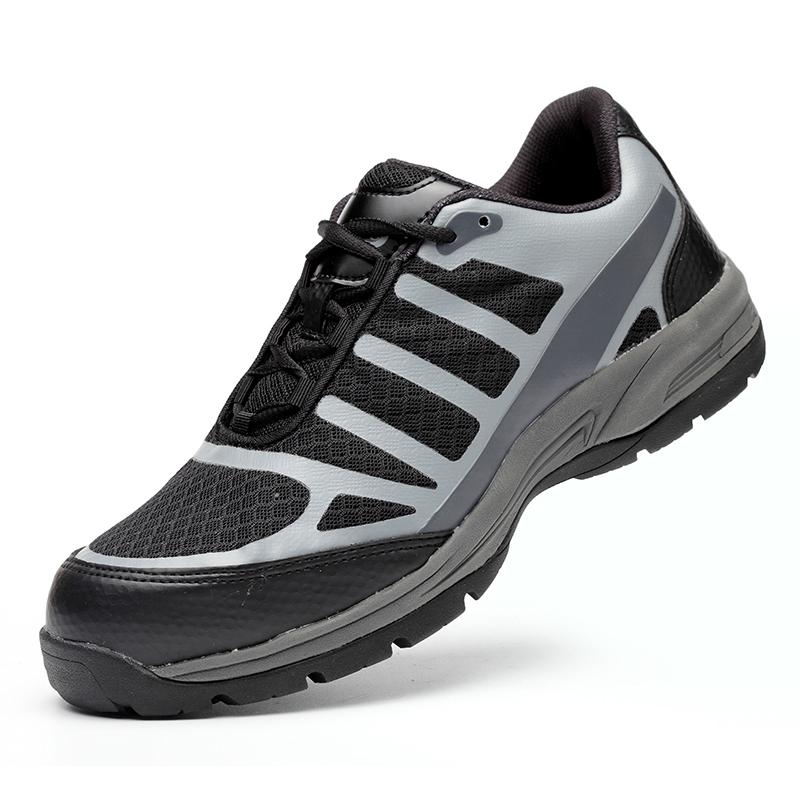 Baotou Steel giày an toàn đàn ông mặc chống đập chống xỏ giày an toàn giày việc khử mùi trọng lượng nhẹ thở mùa hè
