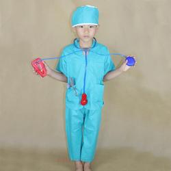 儿童职业工作体验服幼儿园医院诊所扮演服手术师麻醉师角色表演服