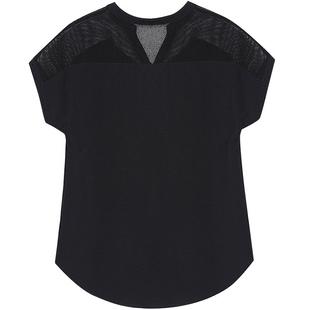 很仙的2019夏装新款百搭洋气雪纺衫