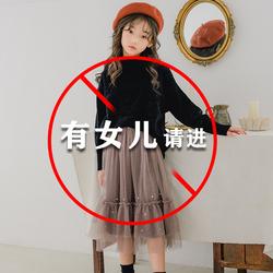 女童秋2020新款秋冬中大儿童半身裙