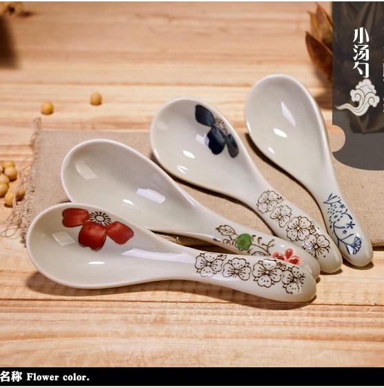 Керамика ложка изгиб ложка рис ложка кашица ложка ложка ребенок здоровье tsp сын японский глазурь следующий цвет фарфор устройство ложка