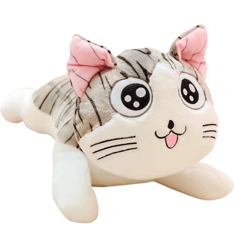起司貓咪小公仔趴趴抱枕兒童毛絨玩具布偶娃娃玩偶甜甜私房喵小奇