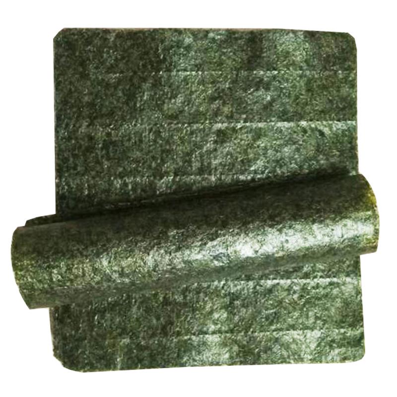 寿司海苔海苔巻き専用50枚の墨緑商用焼き寿司の皮を使ったおにぎりの材料です。