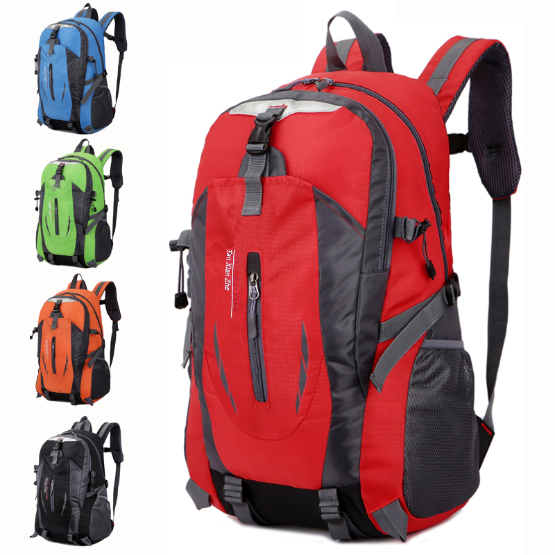Special price new outdoor mountaineering bag large capacity schoolbag Travel Backpack mens sports bag womens Korean Travel Backpack