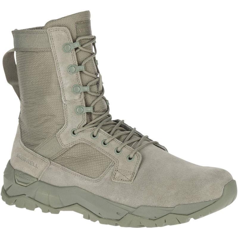 Merrell/迈乐男户外靴系带战术靴耐磨徒步旅行靴正品34545M