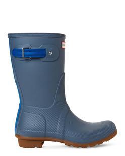 Hunter女靴雨鞋纯色平跟平底中筒夏季舒适经典正品5330-1415001
