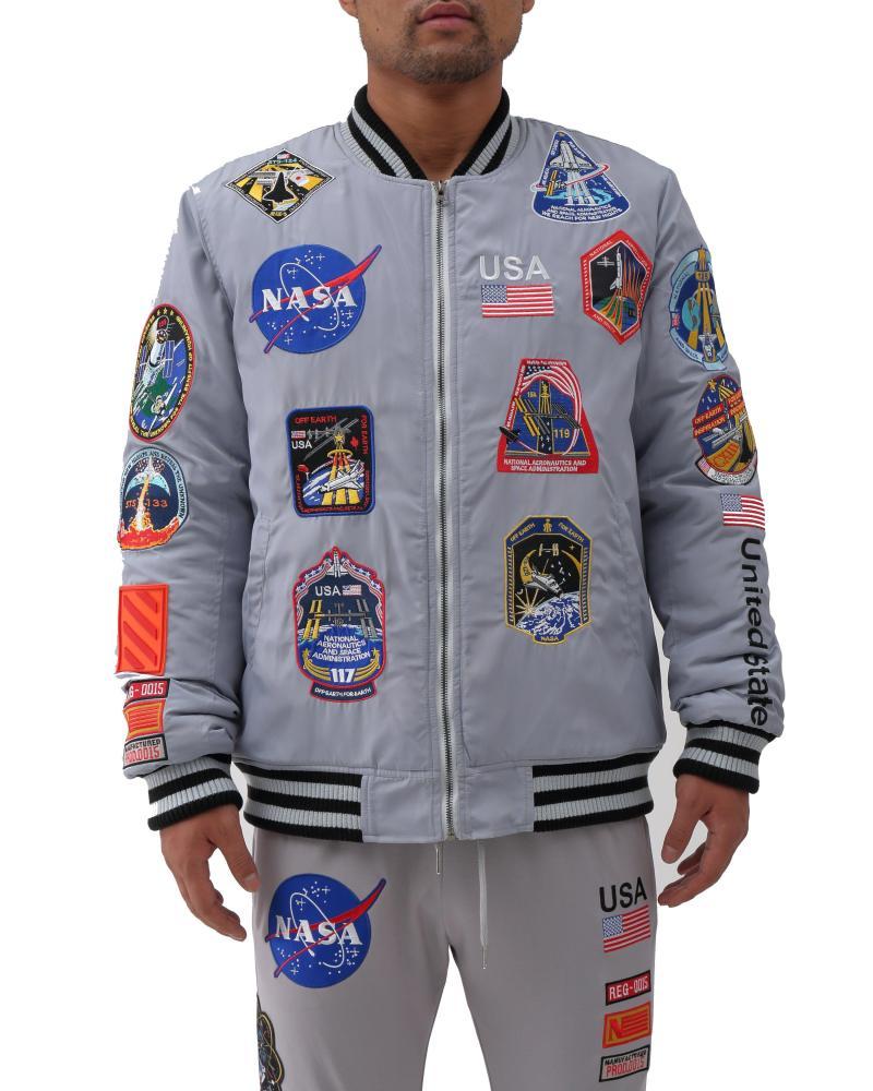 Hudson男士运动外套NASA Astronaut保暖夹克美国直邮B3106