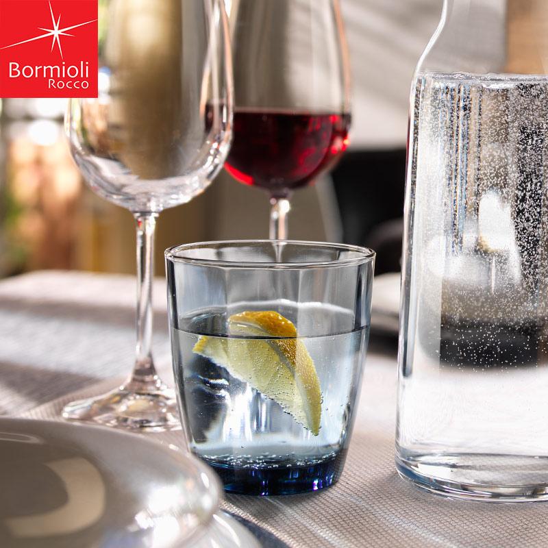 bormioli rocco 玻璃水杯家用牛奶杯麥片果汁飲料燕麥奶茶杯子
