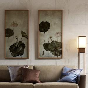 Tao家居饰品  Moonlight手绘裂彩装饰画傅吉江作品家居装饰墙画