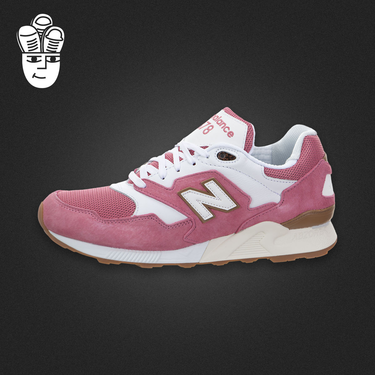 New Balance 878 NB男子经典跑步鞋 慢跑鞋 运动休闲鞋 原白配色
