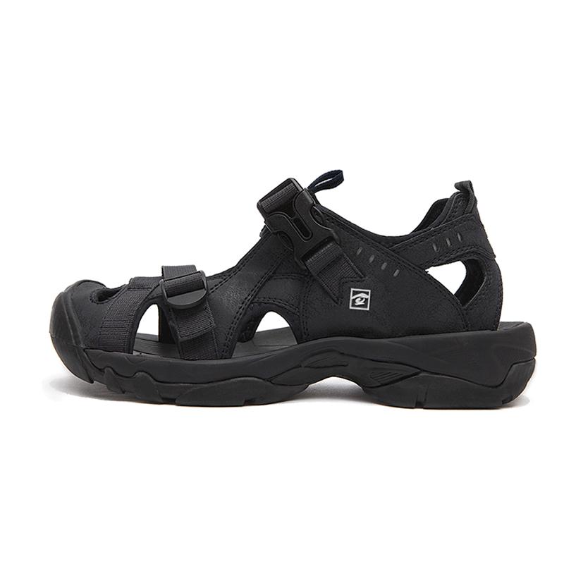 探路者沙滩鞋男夏季户外休闲运动涉水沙滩包头凉鞋TFGE81804